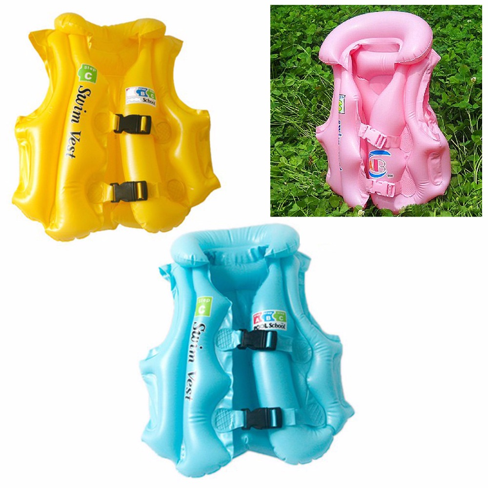 For Boys and Girls Drifting Adjustable Children Kids Babys Inflatable Float Swimsuit Swimming Safety Life Vest(China (Mainland))