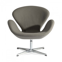 Free Shipping for Swan Chair Cashmere(China (Mainland))