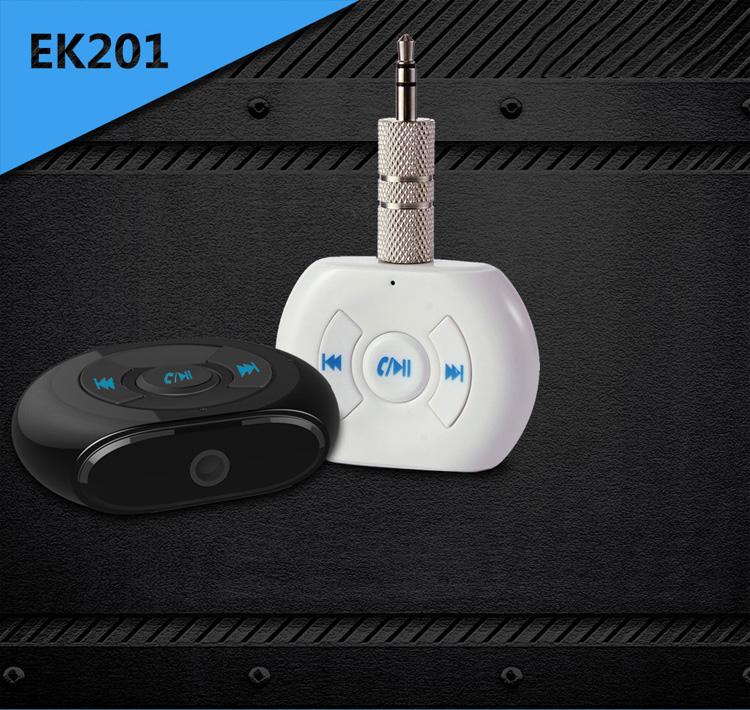 Popular Bluetooth Adaptor Mini Audio Receiver Hands-free call Wireless stream music play 3.5mm audio output for Car Home Audio(China (Mainland))