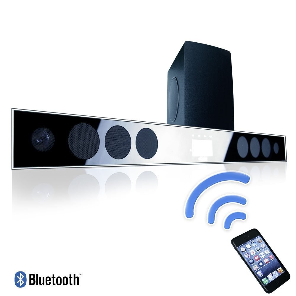2016 hot wireless home theater soundbar sound bar system with 8 0 wireless subwoofer 3d. Black Bedroom Furniture Sets. Home Design Ideas