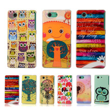 Buy Coque SONY Xperia Z3 Compact Case Soft Plastic Silicon Rubber Case SONY Xperia Z3 mini Cartoon Printed TPU Phone Cover for $2.11 in AliExpress store