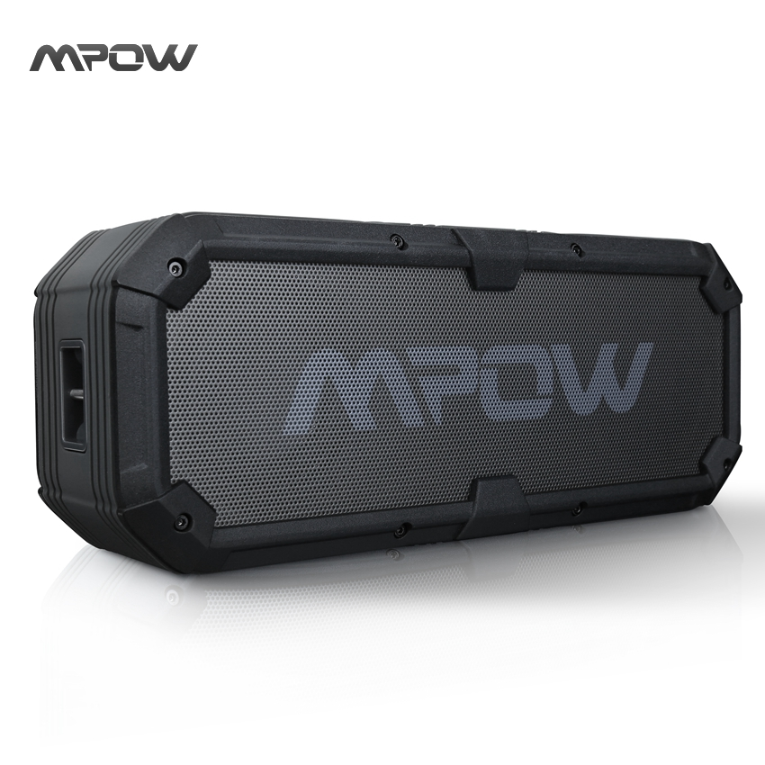 MBS7 New Mpow Armor Plus Portable Bluetooth Speaker IPX5 Waterproof Shockproof Mic Handsfree Call Soundbar Speakers Loudspeakers(China (Mainland))