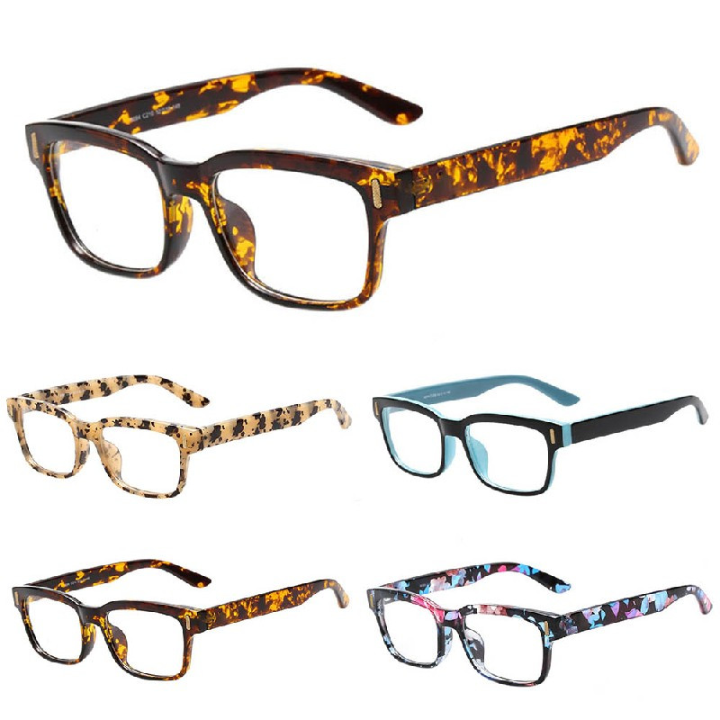 Eyeglass Frame Styles For 2016 : 2016 Women Men Fashion Eyeglass Frame Full Rim Glasses ...