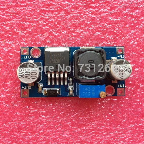 10pcs/lot XL6009 DC-DC Booster module Power supply module output is adjustable Super LM2577 step-up module(China (Mainland))