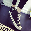 Women s Canvas Shoes Women Star Sneakers Classic High Top girls Non slip Walking Shoes