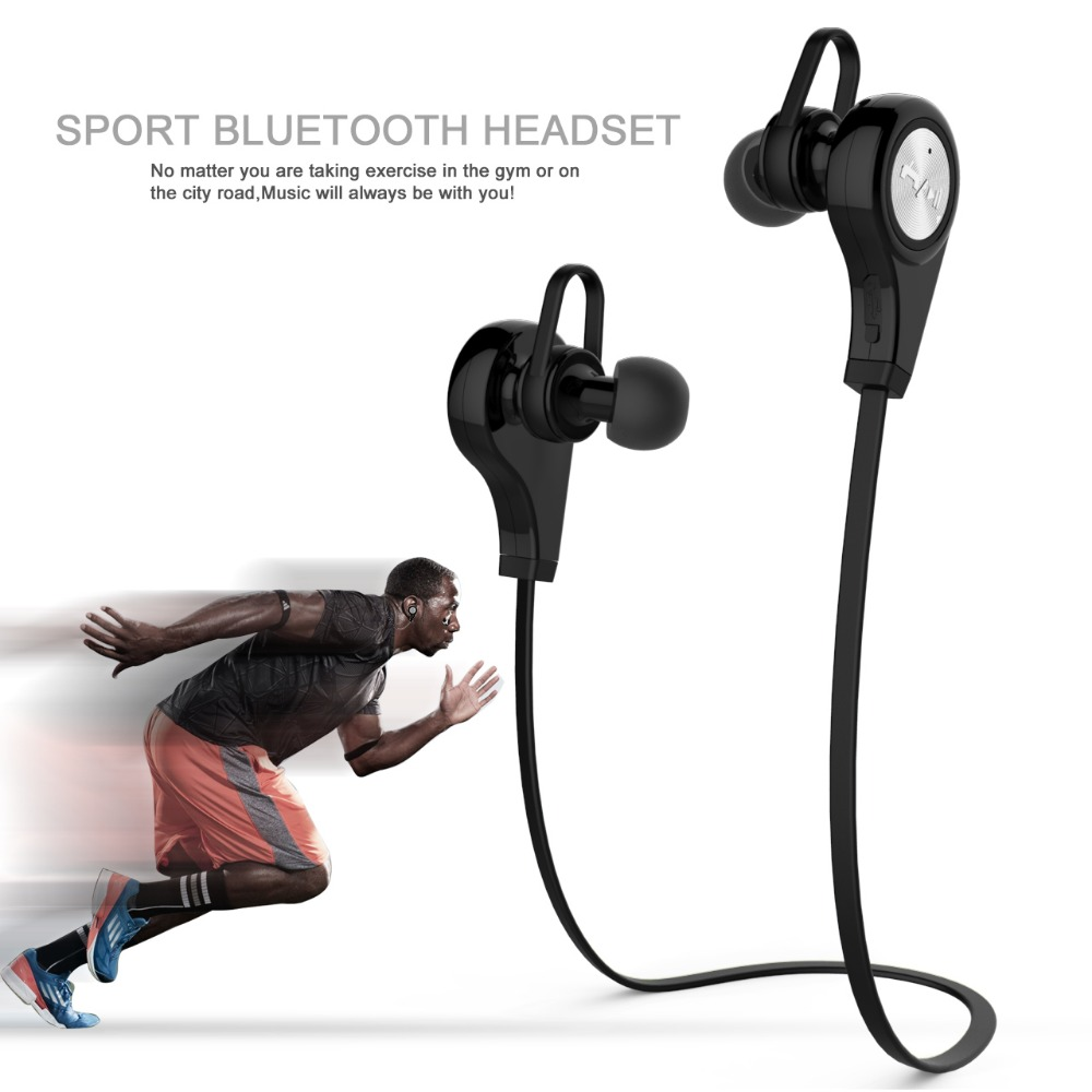 Newest Q9 Wireless Bluetooth 4.1 Headset Earphone Stereo Music Bluetooth Sport Headphone With Original packaging High Quality(China (Mainland))