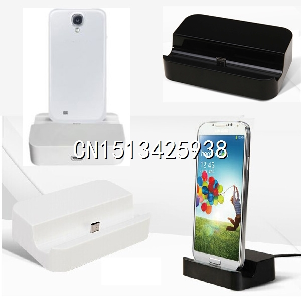 Micro USB Base Desktop Dock Sync Data Charger Phone Charging for Samsung Galaxy S4 S3 S5 Note 2 3 HTC Sony Xiaomi(China (Mainland))