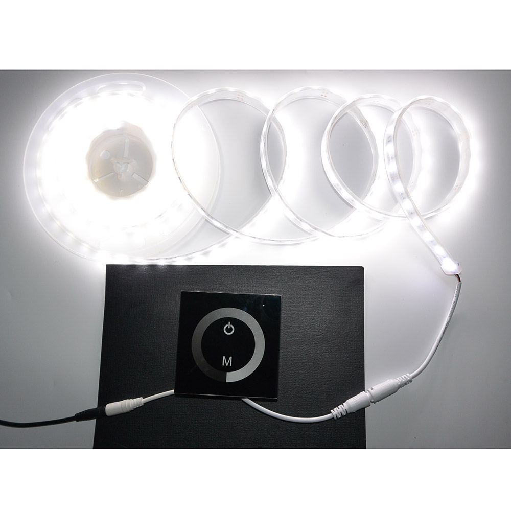Lighting Accessories LED 12-24V DC Touch Panel Dimmer Switch for Sigle Color LED Strip LED Lights Bulbs(China (Mainland))