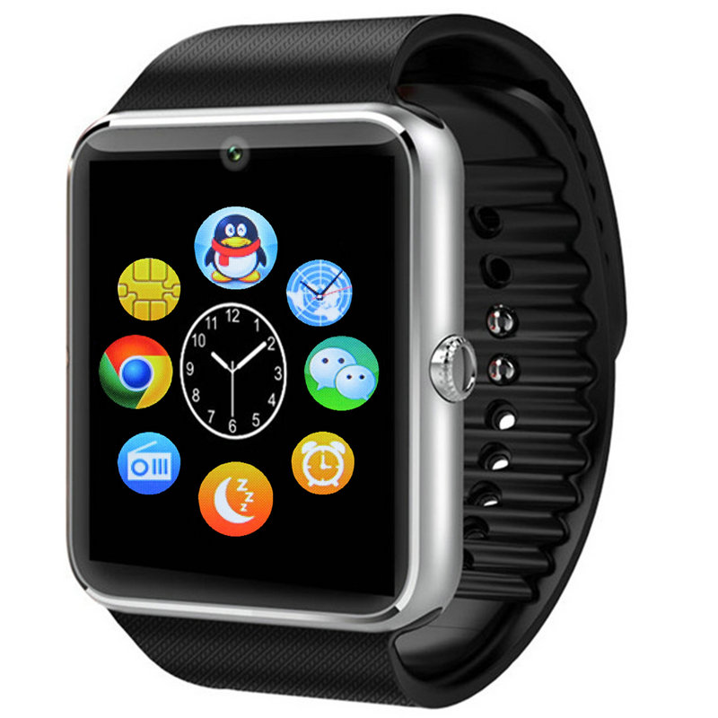 Smart watch telephone led multifunctional qq sports lovers hand ring electronic watch(China (Mainland))