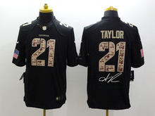 A+++ all stitched ,Washington Redskins signature #21 Sean Taylor 46 Alfred Morris #24 Josh Norman,camouflage(China (Mainland))