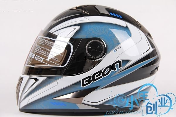 Freeshipping BCM001# BEON B-500 Classic Full Face Helmet Winter Helmet Racing Helmet International Version Motorcycle HelmetsN11