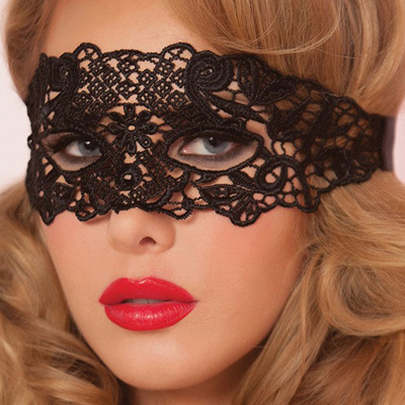 1PCS Eye Mask Women Sexy Lace Venetian Mask For Masquerade Ball Halloween Cosplay Party Masks Female Fancy Dress Costume Masque(China (Mainland))