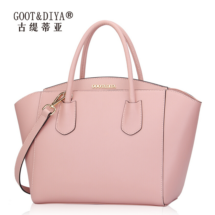 Cross grain lady handbags 2015 new tide female fashion package one shoulder handbag