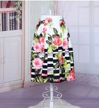 free shipping summer style skirts Black big pendulum umbrella skirt restoring ancient ways high waist skirt