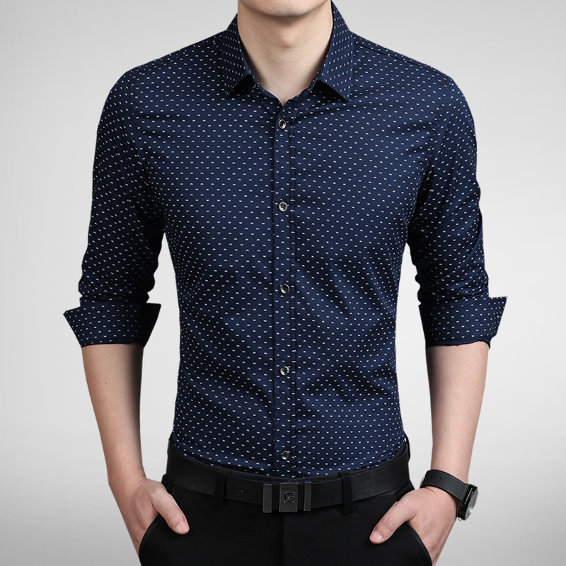 Buy 2015 new men long sleeve shirt luxury for In style mens shirts
