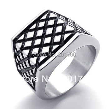 Punk rock accessories stainless steel finger ring accessories  man ring free  shipping 75142