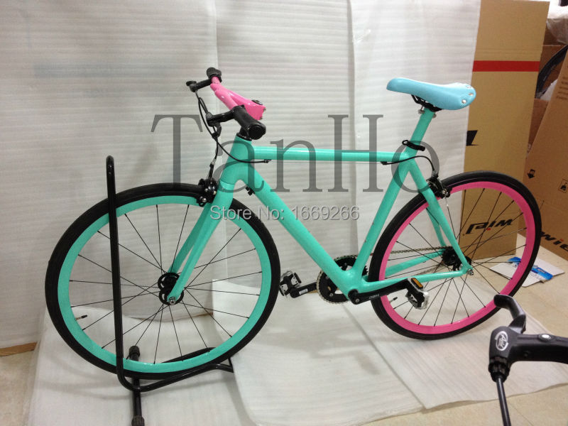 Single speed carbon road bicycle carbon road bike(China (Mainland))