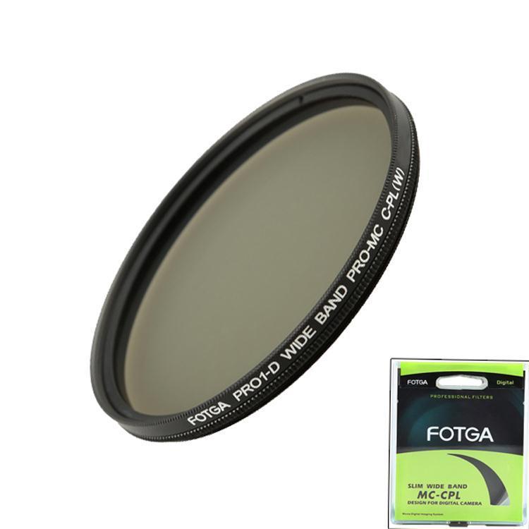 For Canon Nikon FOTGA Pro1-D Digital Slim Pro-MC Multi-Coated CPL Circular PL 55mm Lens Filter(China (Mainland))