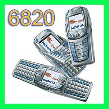 Original Refurbished Nokia 6820 Cell Phone Unlocked GSM 900/1800/1900 QWERTY Keyboard Only English and French language(China (Mainland))