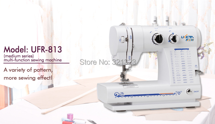 Electric Household Sewing Machine medium-sized multi-functional African Dress - Dreams May Come store
