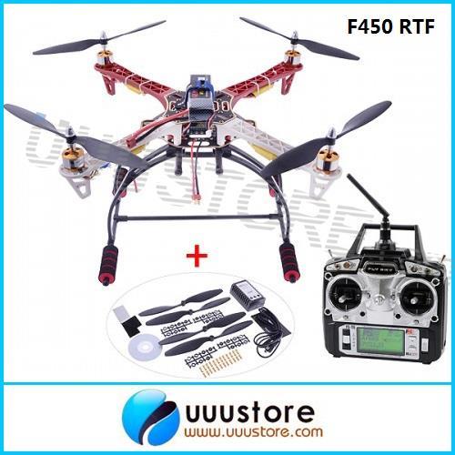 DJI F450 4-axis Multicopter Quadcopter RTF w/MWC+Radio+Motor+ESC+Propeller+Battery+Changer+Landing Gear<br><br>Aliexpress
