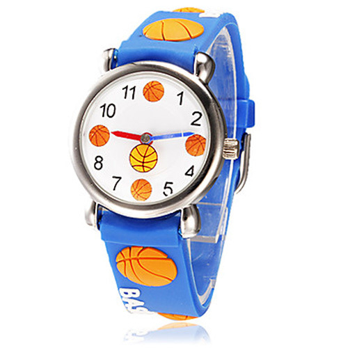 Children watch basketball Brand Quartz Wrist Watch Baby For Girls Boys Waterproof Kid Watches Children Fashion Casual Reloj