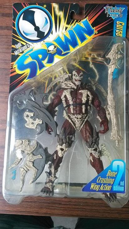 Bone Crushing Wing Action 2nd Spawn comic book action figure classic toys for boy with box SP0070