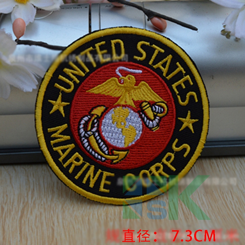 50pcs/lot Mix design Army DIY Embroidered Sew On Patches Army Badge Patch Cloth Sticker Clothing Accessory for Clothes(China (Mainland))