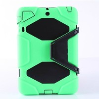 30pcs For iPad mini Colorful Hybrid Heavy Duty Hard Extreme Duty Silicone Case For iPad mini 2  Shockproof Military Cover