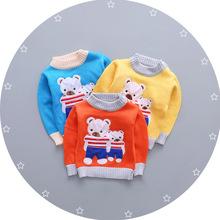 2016 новый зимний мальчиков и девочек свитер мультфильм одежды дети пуловеры верхняя одежда для детей свитер теплый для детей трикотаж(China (Mainland))
