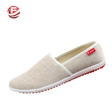 Breathable Man Hemp Summer Flat Shoes Eu 39-44 New Arrival Fashion Outdoor Style Light & Soft Men Casual Shoes(China (Mainland))