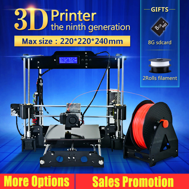 Big size Prusa i3 3D Printer DIY kit