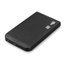 "External Enclosure for Hard Drive Disk 2.5"" Usb 2.0 Ultra Slim Sata Hdd Portable Case Black New Arrive(China (Mainland))"