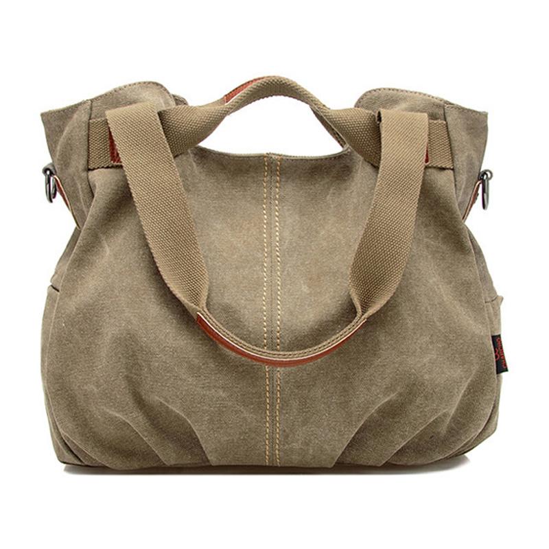 best New 2017 Canvas Handbag Women Shoulder Bag All-match Brand ...