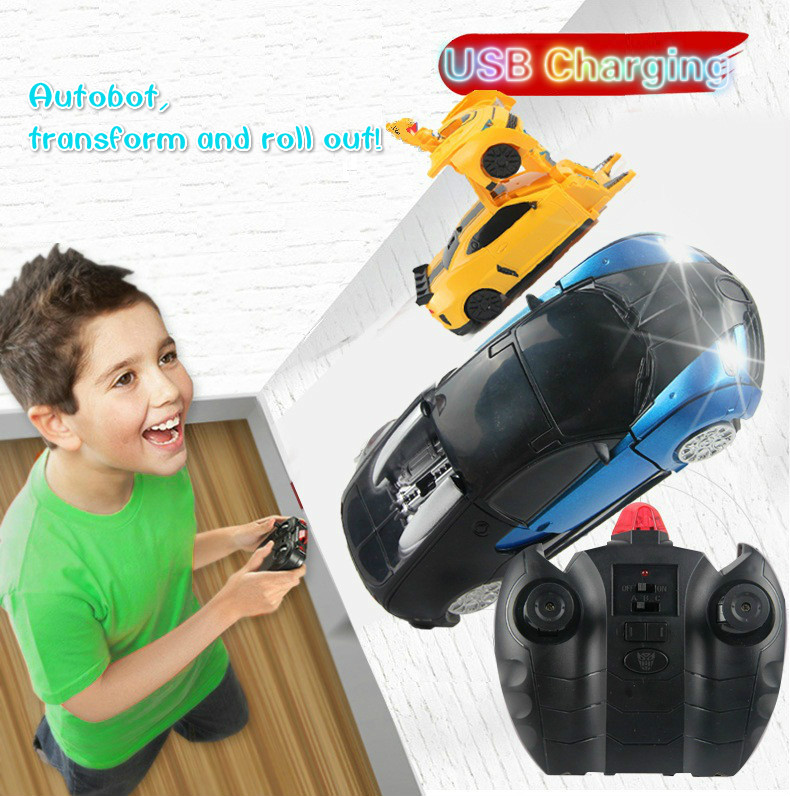 RC Car Deformation 1:24 USB Charging Wall Climber Remote Control Drift Game For Kids(China (Mainland))