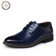 2016 mens shoes oxford genuine leather mens pointed toe dress flat shoes formal flats wedding oxfords brand derby shoes 38-44.