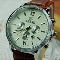 Leather Watch 03
