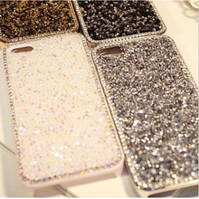 Luxury Crystal Bling Rhinestone Hard Back Case Cover For iPhone 4 4S 5 6 Top quality diamond Case For iPhone 4 5 6(China (Mainland))