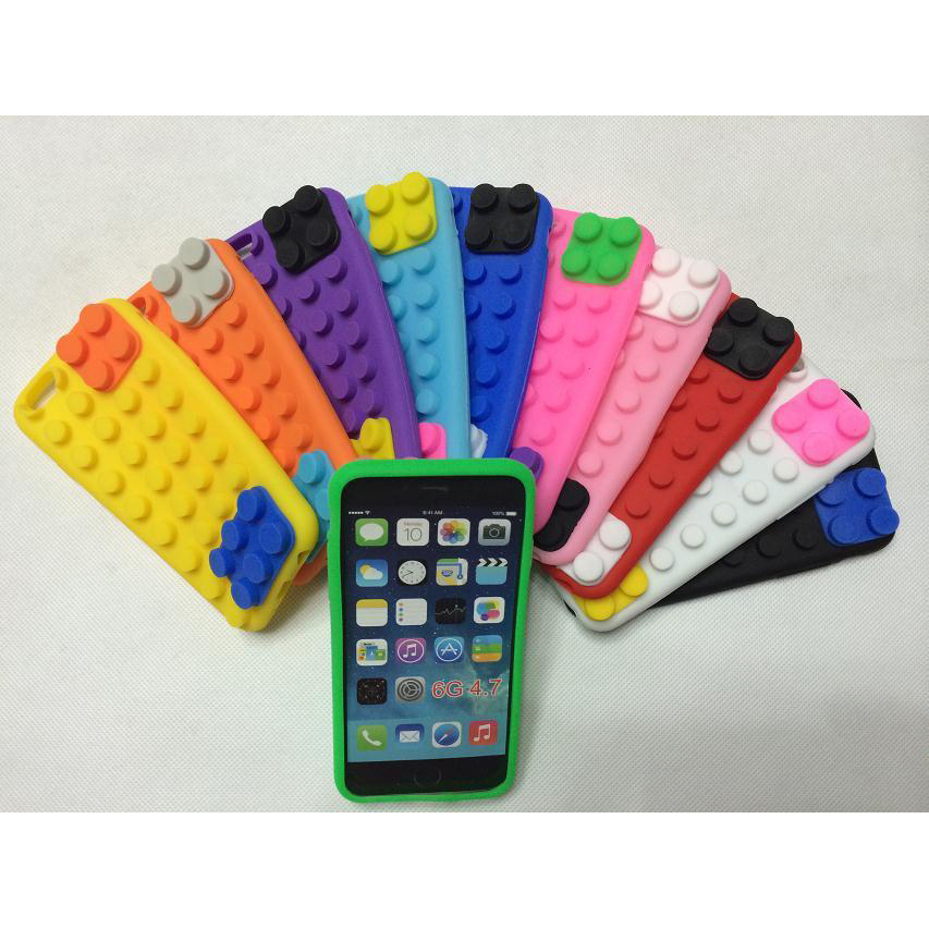 """Multi Color Silicone Flexible Anti Knock Shockproof Block Case for Iphone 6 6s 4.7"""" Coque for Men and Women(China (Mainland))"""