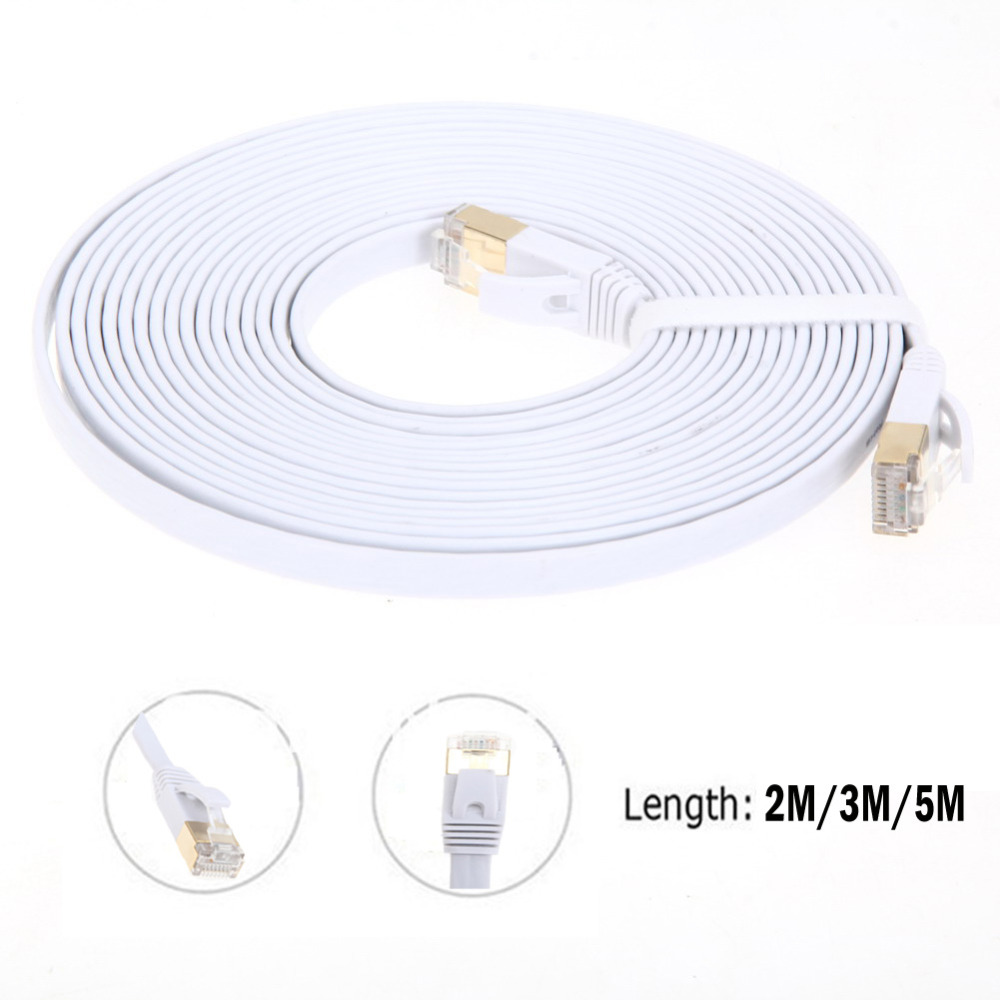 High Speed CAT7 RG45 10Gbps 600Mhz Ethernet Cable Modem Router LAN Network Internet Lan 2M/3M/5M(China (Mainland))