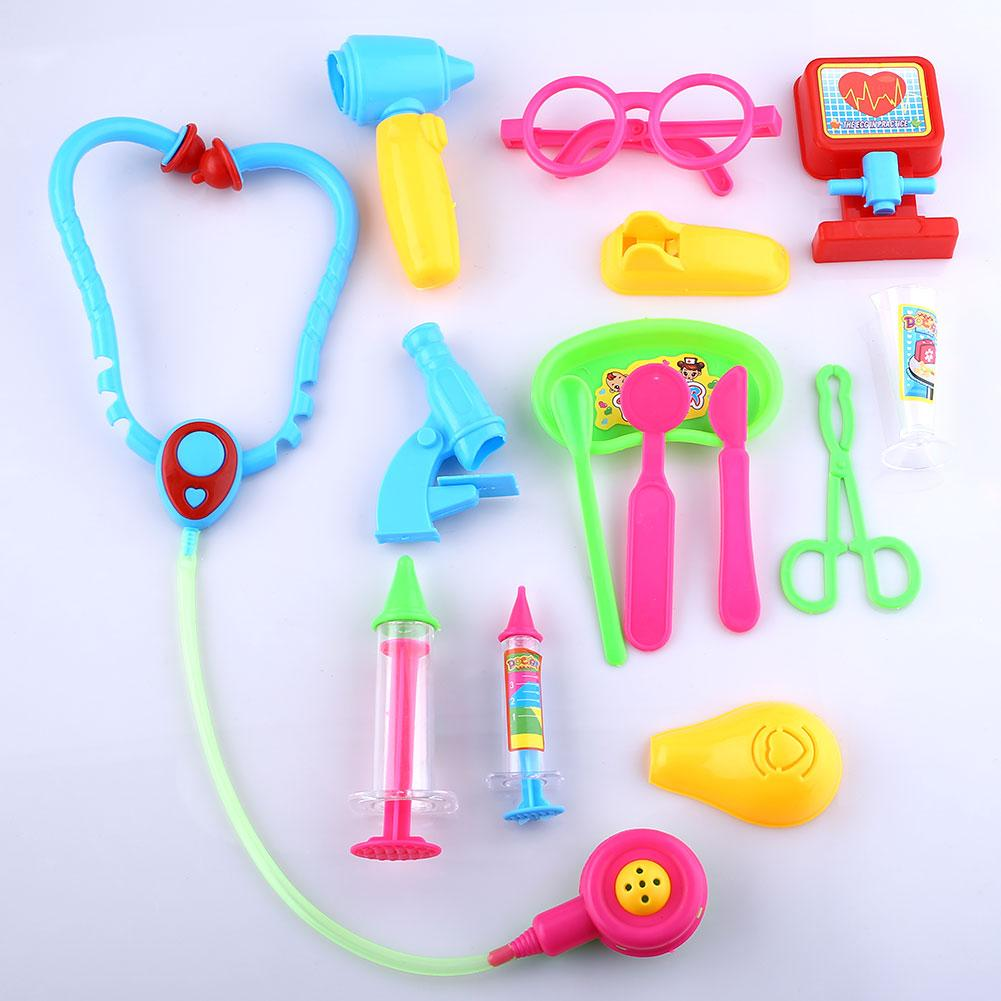 2016 Kids Doctor Medical Play Set Pretend Carry Case Kit Role Play Toys Gift Girls Baby Child Baby Kid Plastic Toys(China (Mainland))