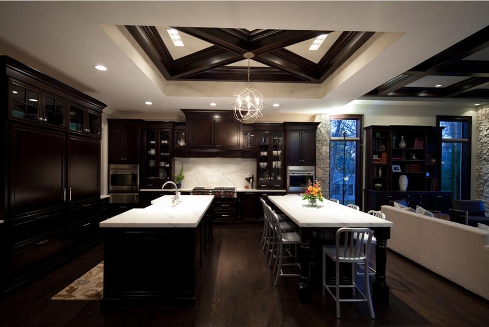 2016 traditional solid wood kitchen cabinet new design white armadio da cucina mutfak wooden kitchen furnitures S1606033(China (Mainland))