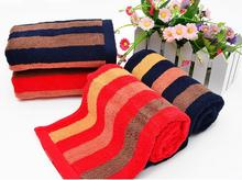 Hot cotton towel 34 * 75cm high-end gift bamboo fiber towels super soft skin-friendly cotton towel(China (Mainland))