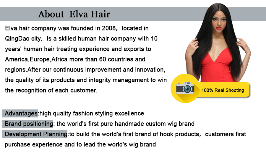 Elva Hair Loose Wave Full Lace Wigs Bleacked Knots With Baby Hair Brazilian Remy Human Hair Wigs For Black Women Natural Color