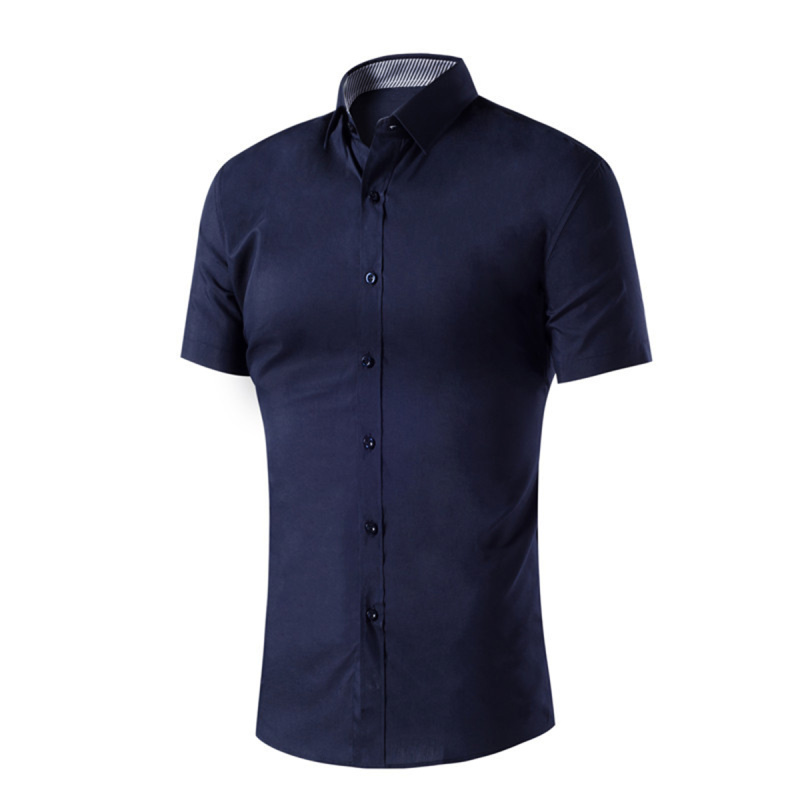 Mens Casual Short Sleeve Slim Fit Lapel Neck Button Down Closure Polo Shirts Sports Jerseys Golf Tennis Polo Tops Men Boy Gifts(China (Mainland))