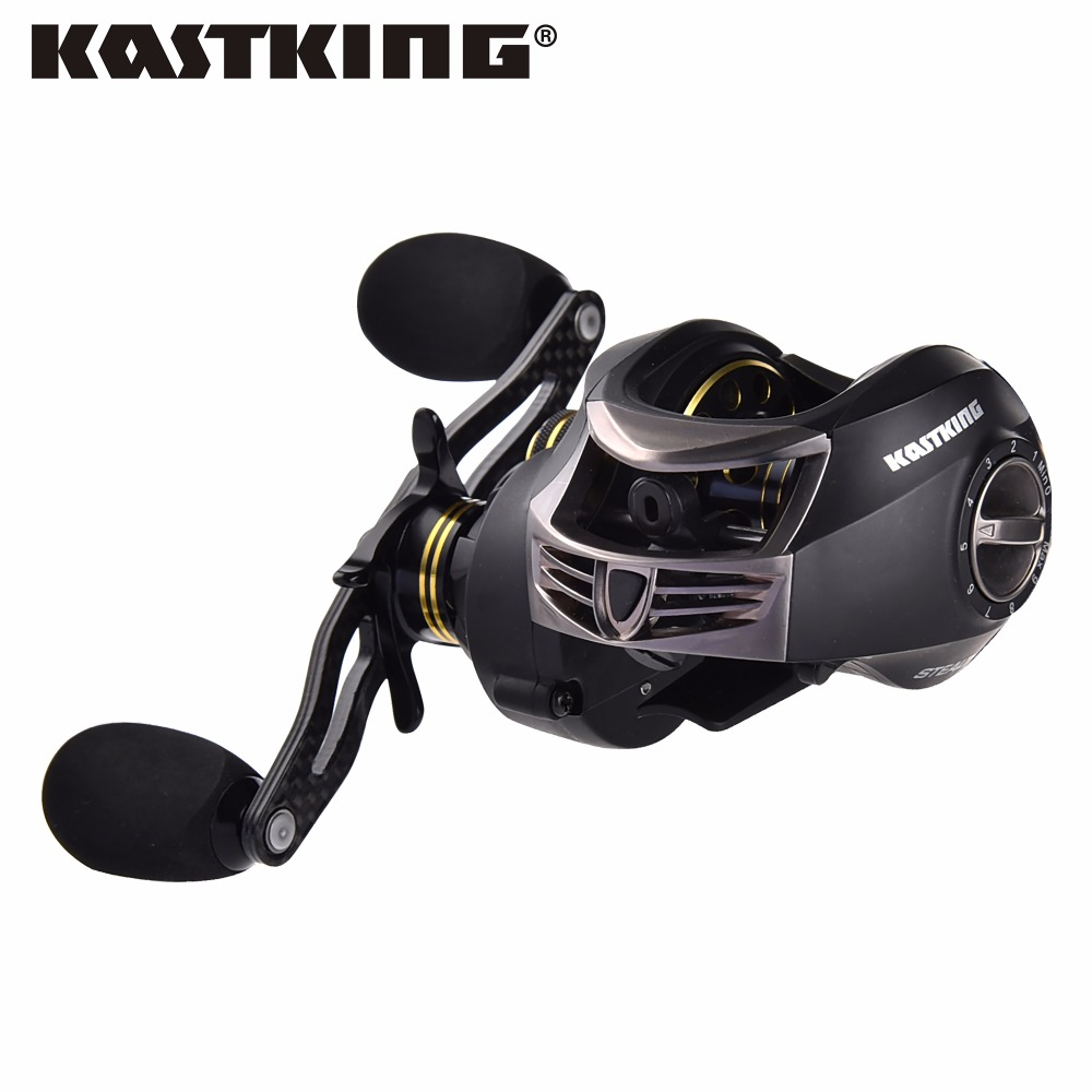 KastKing Stealth 12 Ball Bearings 169.5g Bait Casting Carp Fishing Reel High Speed Baitcasting Pesca 7.0:1 Lure Reel(China (Mainland))