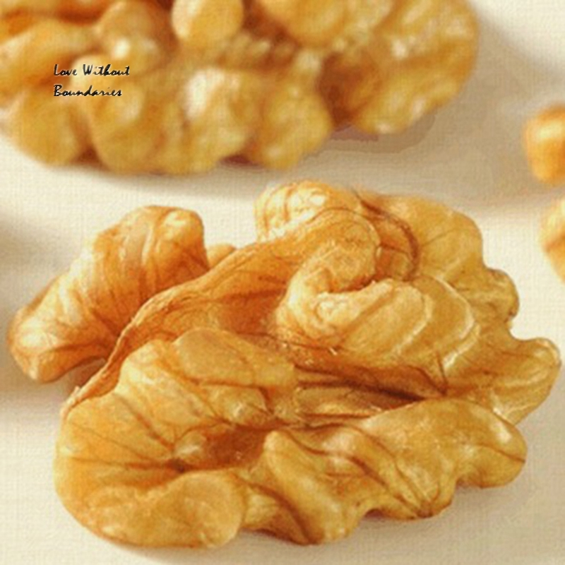 Vacuum pack Raw walnuts 500g walnut meat purify the blood, lower cholesterol brain aging; green food market one's own products(China (Mainland))
