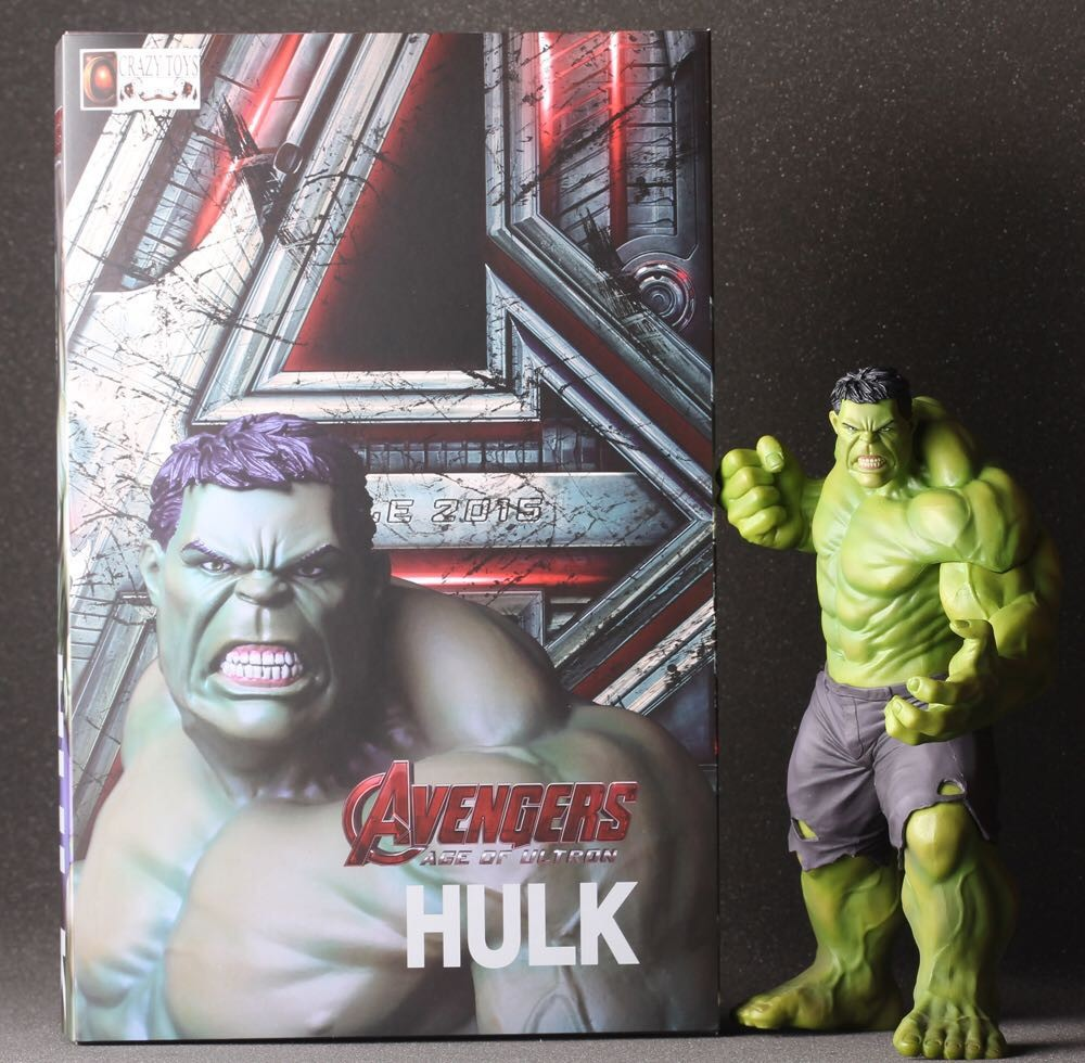 Marvel The Avengers 2 Hulk 23cm Solid PVC Action Figure Hero Man Model Toy Collectable Dolls In Box Decoration toys(China (Mainland))