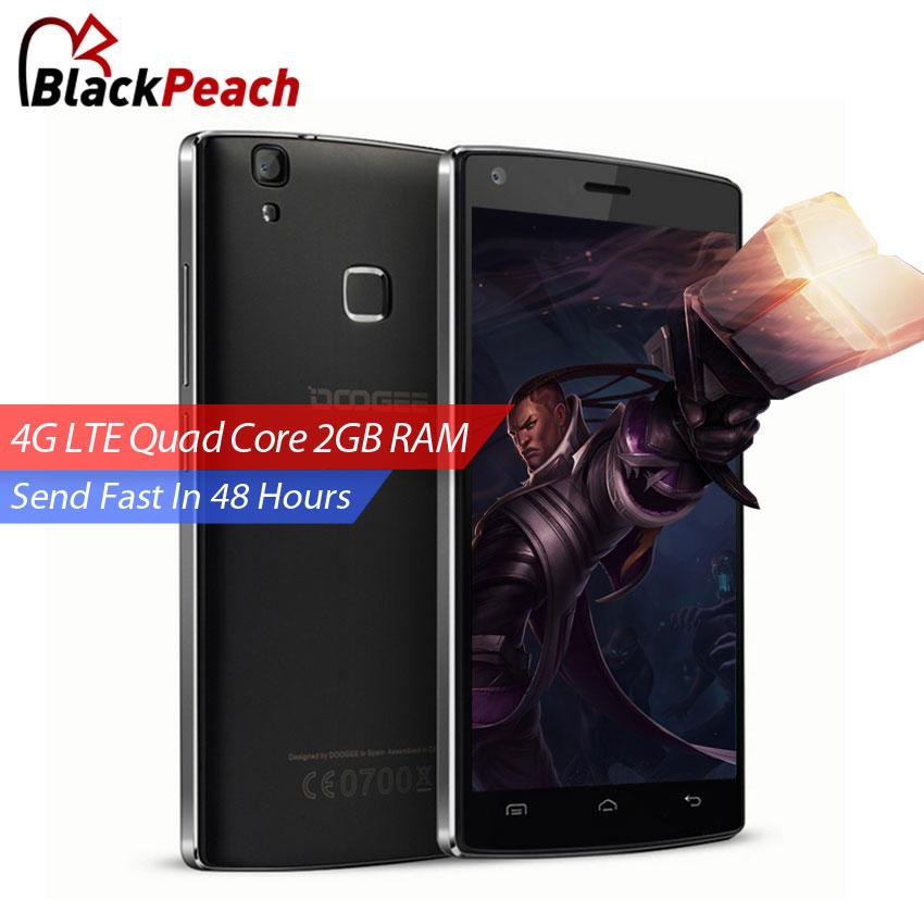 Original Doogee X5 MAX Pro 4G LTE Mobile Phone 5 Inch HD MTK6737 Quad Core Andriod 6.0 2GB RAM 16GB ROM 8MP CAM Fingerprint ID(China (Mainland))