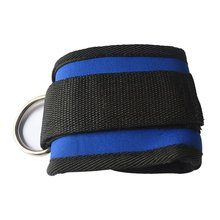 Wholesale Ankle Anchor Strap D-ring Multi Gym Cable Attachment Thigh Leg Pulley Strap Exercise Tubing Strength